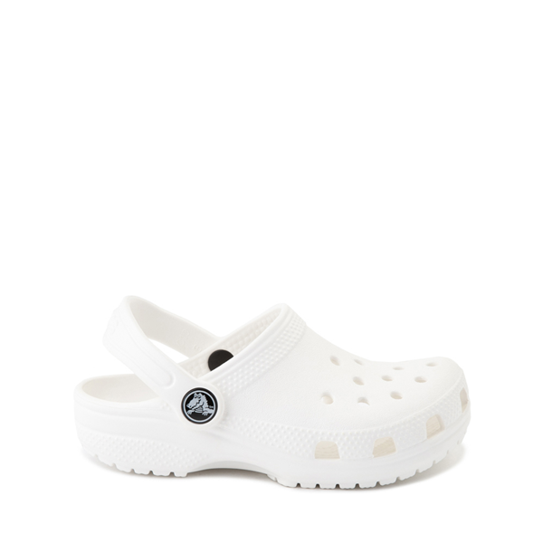 Main view of Crocs Classic Clog Sandal - Baby / Toddler / Little Kid - White