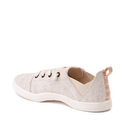 Alternate view of Womens Roxy Libbie Slip On Casual Shoe - Natural