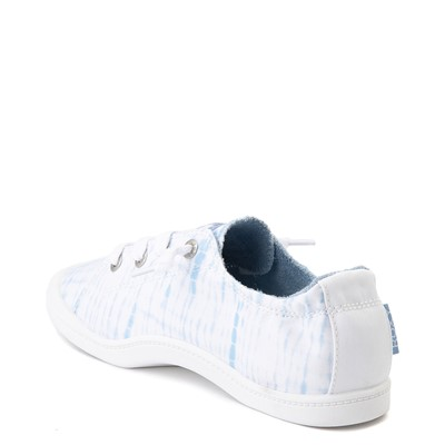 Alternate view of Womens Roxy Bayshore Tie Dye Casual Shoe - Blue
