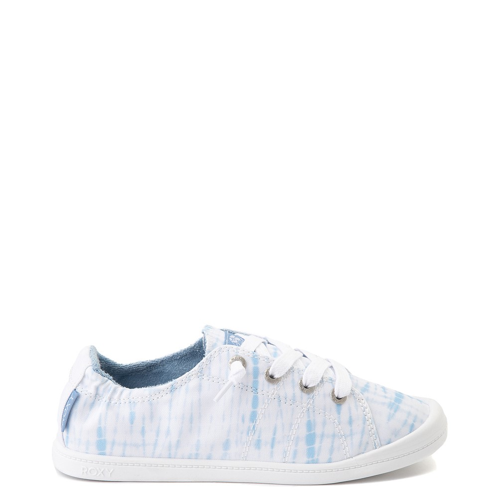 Womens Roxy Bayshore Tie Dye Casual Shoe - Blue