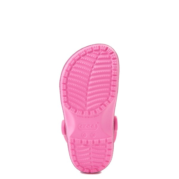 alternate view Crocs Classic Glitter Clog - Little Kid - Pink LemonadeALT5