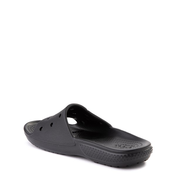 alternate view Crocs Classic Slide Sandal - Little Kid / Big Kid - BlackALT2