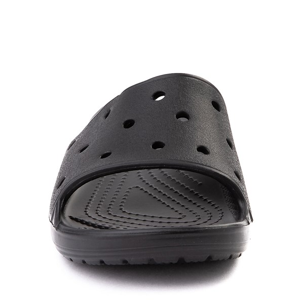 alternate view Crocs Classic Slide Sandal - Little Kid / Big Kid - BlackALT4