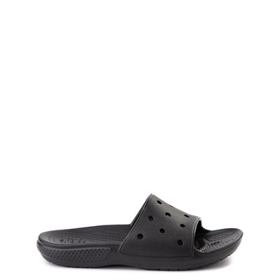 Main view of Crocs Classic Slide Sandal - Little Kid / Big Kid - Black