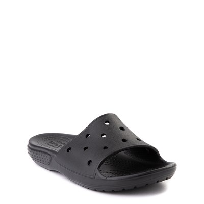Alternate view of Crocs Classic Slide Sandal - Little Kid / Big Kid - Black