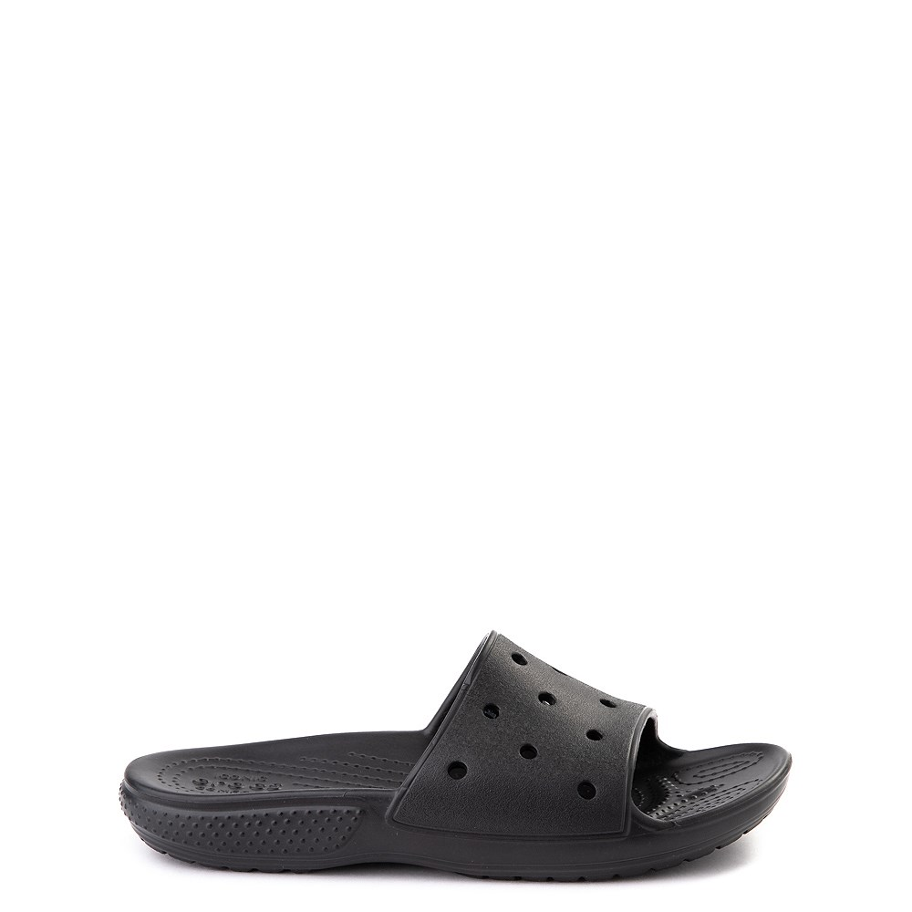 Crocs Classic Slide Sandal - Little Kid / Big Kid - Black