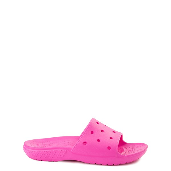 Crocs Classic Slide Sandal - Little Kid / Big Kid - Electric Pink