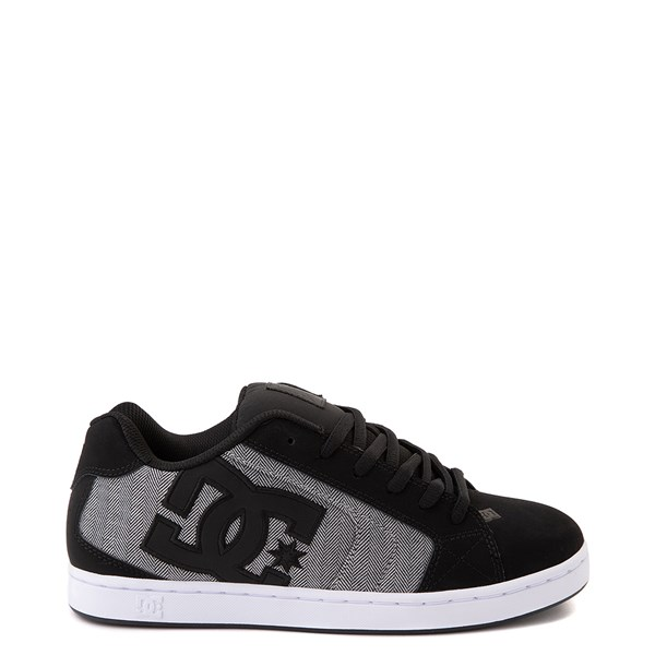 Mens DC Net SE Skate Shoe - Black / Gray