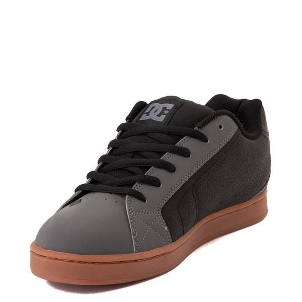 alternate view Mens DC Net Skate Shoe - Gray / Black / GumALT3