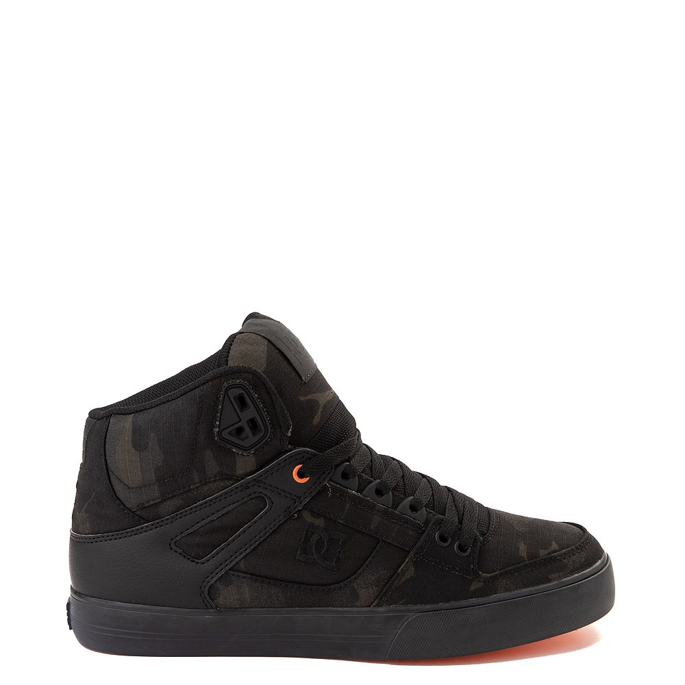 Mens DC Pure Hi WC TX SE Skate Shoe