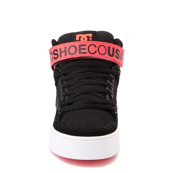 alternate view Womens DC Pure Hi V Skate ShoeALT4