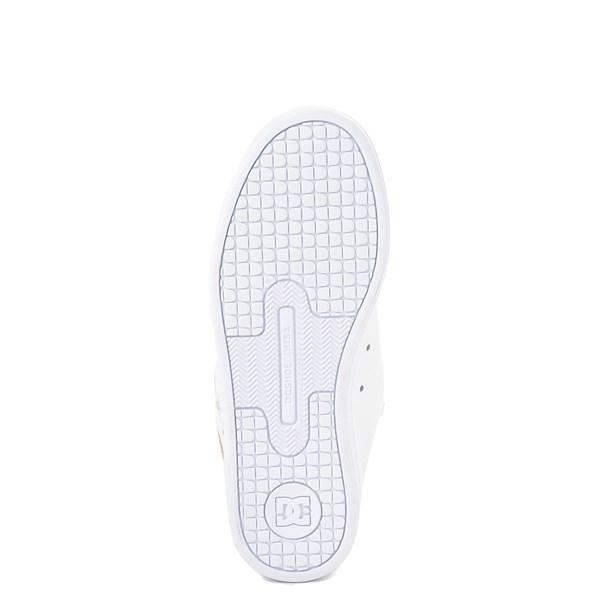alternate view Womens DC Court Graffik Skate Shoe - White / GoldALT5