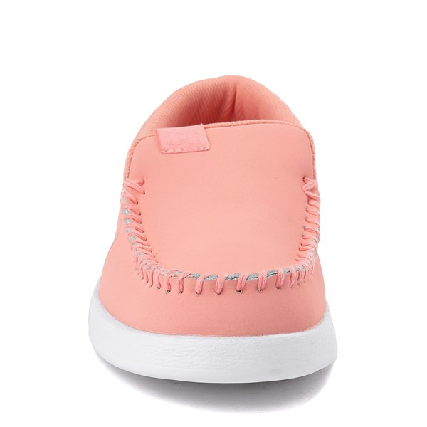 alternate view Womens DC Villain 2 Skate Shoe - CoralALT4