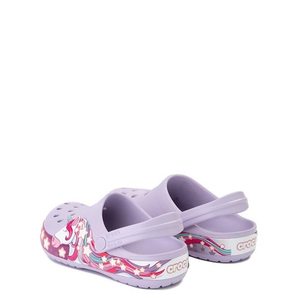 alternate view Crocs Funlab Unicorn Clog - Baby / Toddler / Little Kid - LavenderALT1