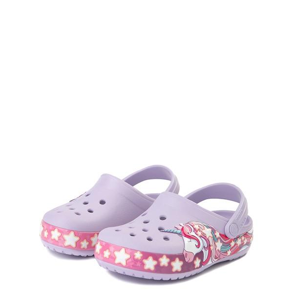 alternate view Crocs Funlab Unicorn Clog - Baby / Toddler / Little Kid - LavenderALT2