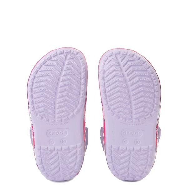 alternate view Crocs Funlab Unicorn Clog - Baby / Toddler / Little Kid - LavenderALT3