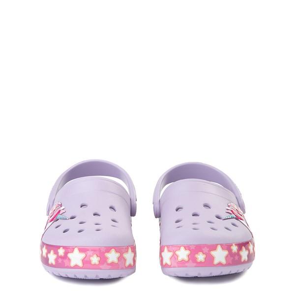 alternate view Crocs Funlab Unicorn Clog - Baby / Toddler / Little Kid - LavenderALT4