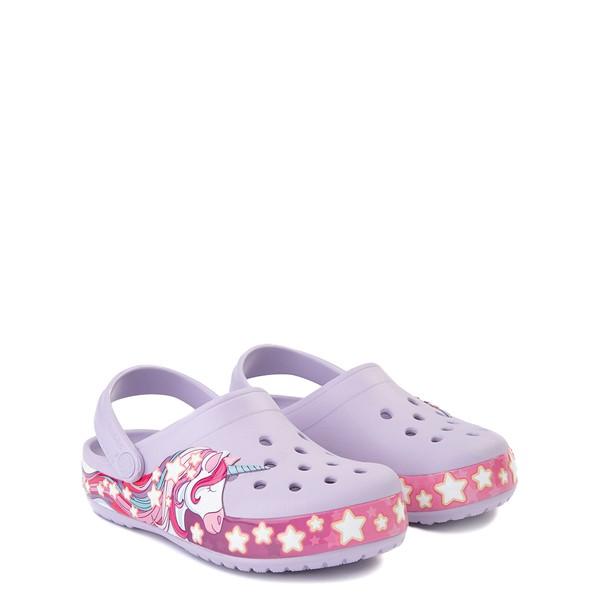 alternate view Crocs Funlab Unicorn Clog - Baby / Toddler / Little Kid - LavenderALT5