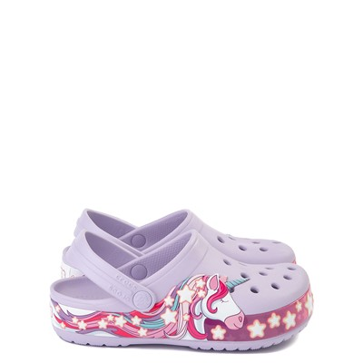 Main view of Crocs Funlab Unicorn Clog - Baby / Toddler / Little Kid - Lavender