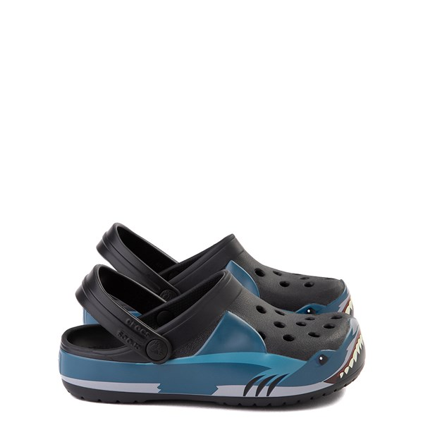 Main view of Crocs Funlab Shark Clog - Baby / Toddler / Little Kid - Black