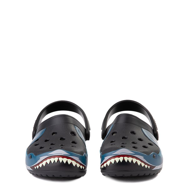 alternate view Crocs Funlab Shark Clog - Baby / Toddler / Little Kid - BlackALT4