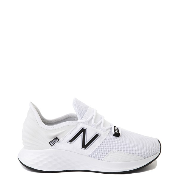 Womens New Balance Fresh Foam Roav Athletic Shoe - White / Black