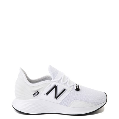 Main view of Womens New Balance Fresh Foam Roav Athletic Shoe - White / Black