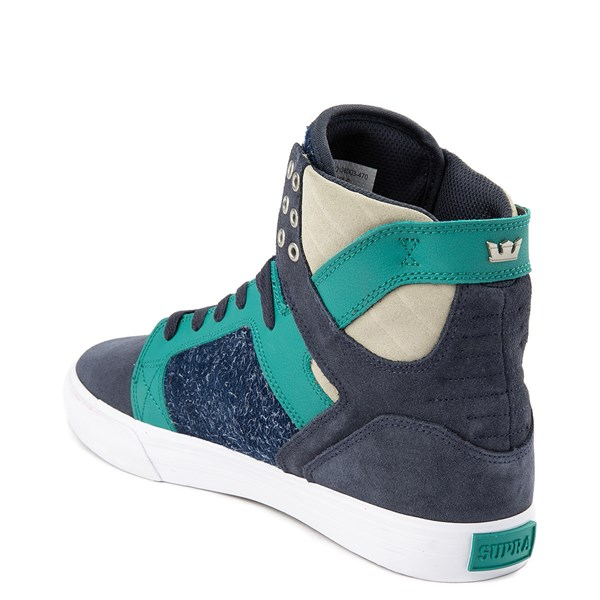 alternate view Mens Supra Skytop Hi Skate ShoeALT2