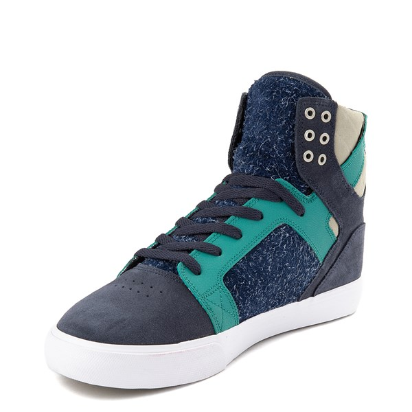 alternate view Mens Supra Skytop Hi Skate ShoeALT3