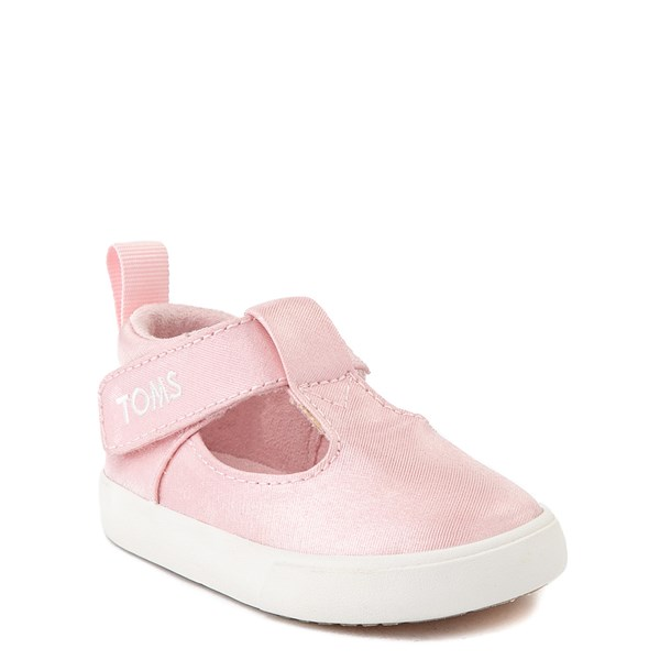 alternate view TOMS Early Walker Joon Casual Shoe - Baby / Toddler - Pink GlitzALT1