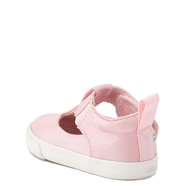 alternate view TOMS Early Walker Joon Casual Shoe - Baby / Toddler - Pink GlitzALT2