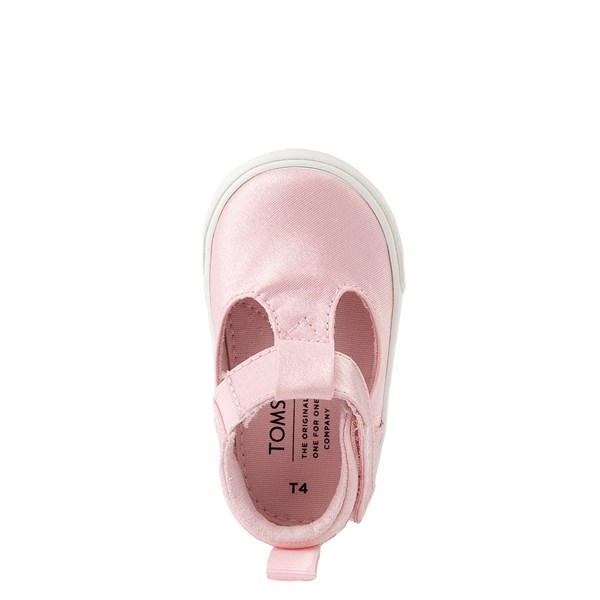 alternate view TOMS Early Walker Joon Casual Shoe - Baby / Toddler - Pink GlitzALT4B