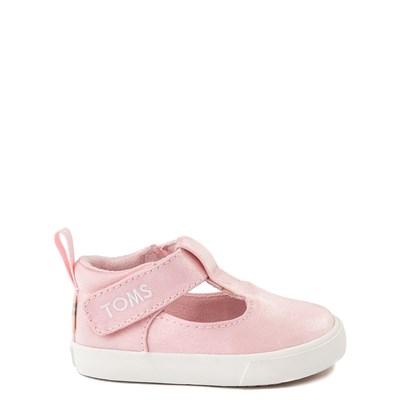 Main view of TOMS Early Walker Joon Casual Shoe - Baby / Toddler - Pink Glitz