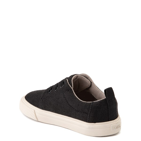 alternate view TOMS Carlito Casual Shoe - Baby / Toddler / Little Kid - BlackALT2