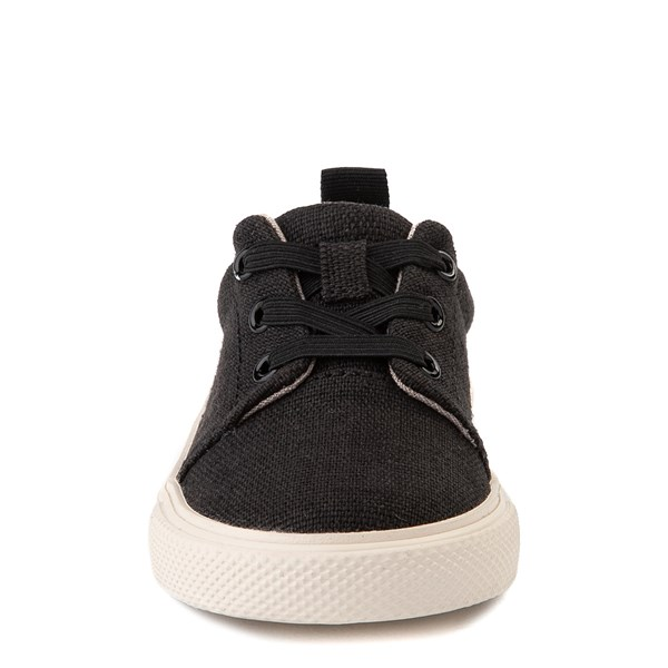 alternate view TOMS Carlito Casual Shoe - Baby / Toddler / Little Kid - BlackALT4
