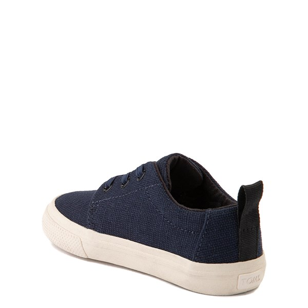 alternate view TOMS Carlito Casual Shoe - Baby / Toddler / Little Kid - NavyALT2
