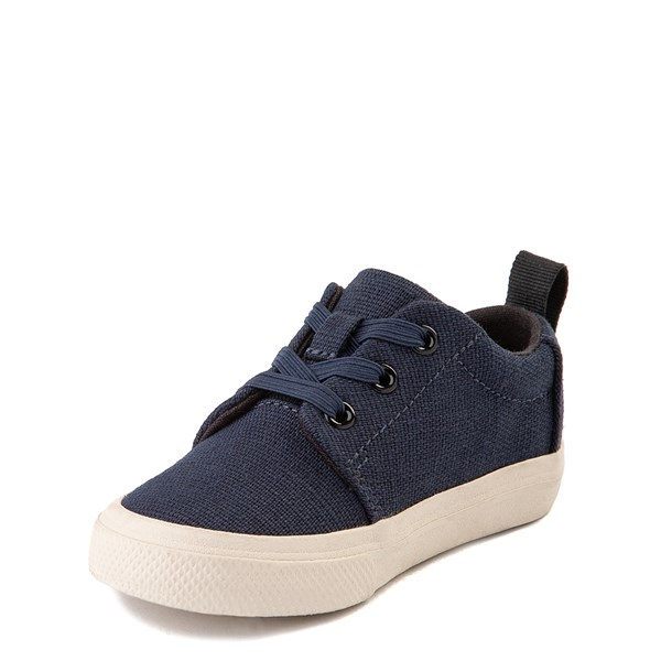 alternate view TOMS Carlito Casual Shoe - Baby / Toddler / Little Kid - NavyALT3