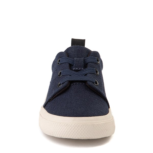 alternate view TOMS Carlito Casual Shoe - Baby / Toddler / Little Kid - NavyALT4