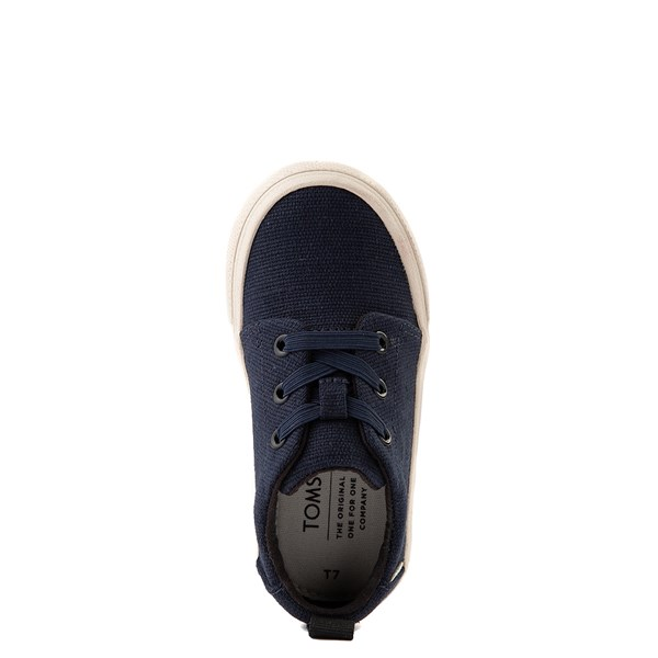 alternate view TOMS Carlito Casual Shoe - Baby / Toddler / Little Kid - NavyALT4B