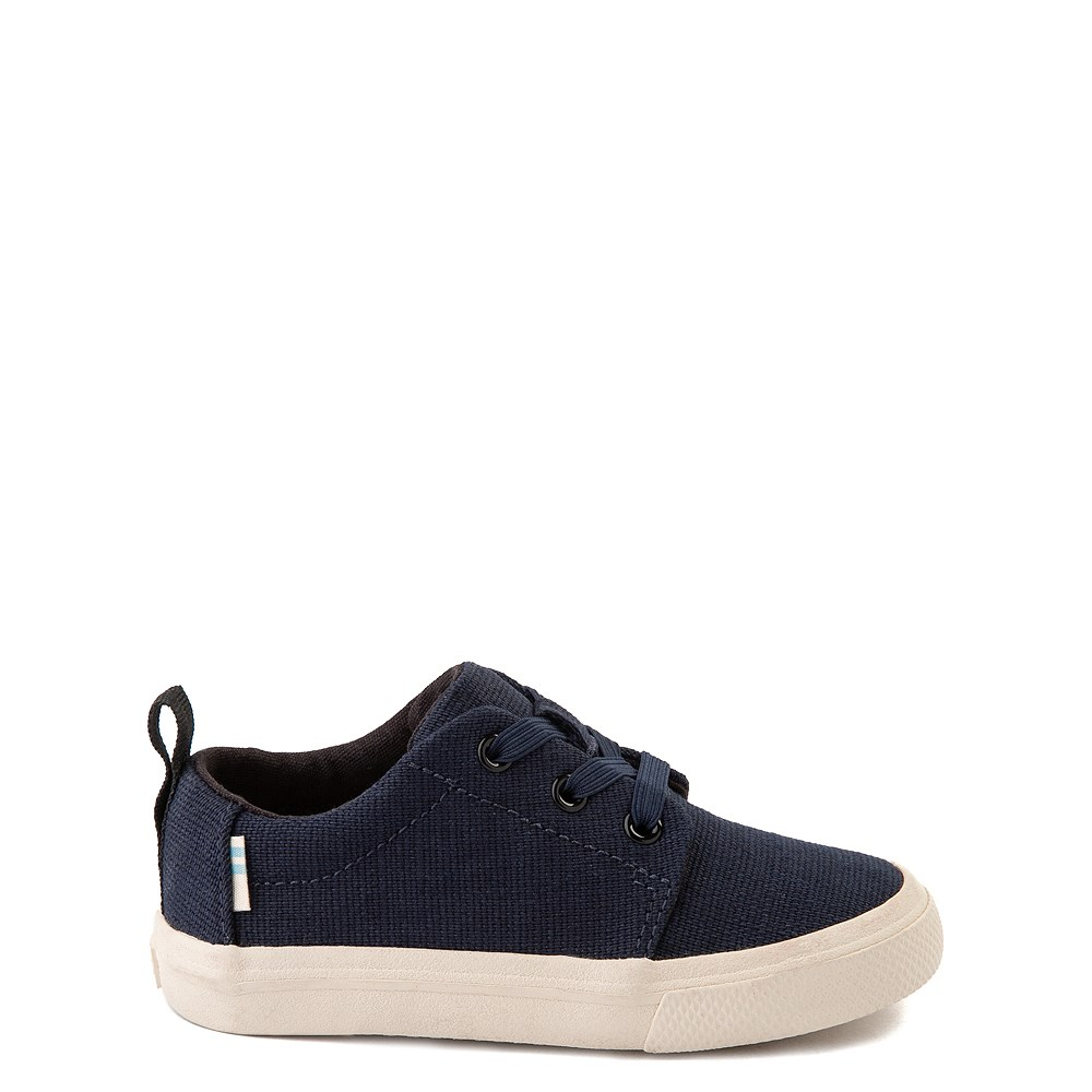 TOMS Carlito Casual Shoe - Baby / Toddler / Little Kid - Navy