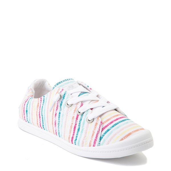 alternate view Womens Roxy Bayshore Casual Shoe - MultiALT1