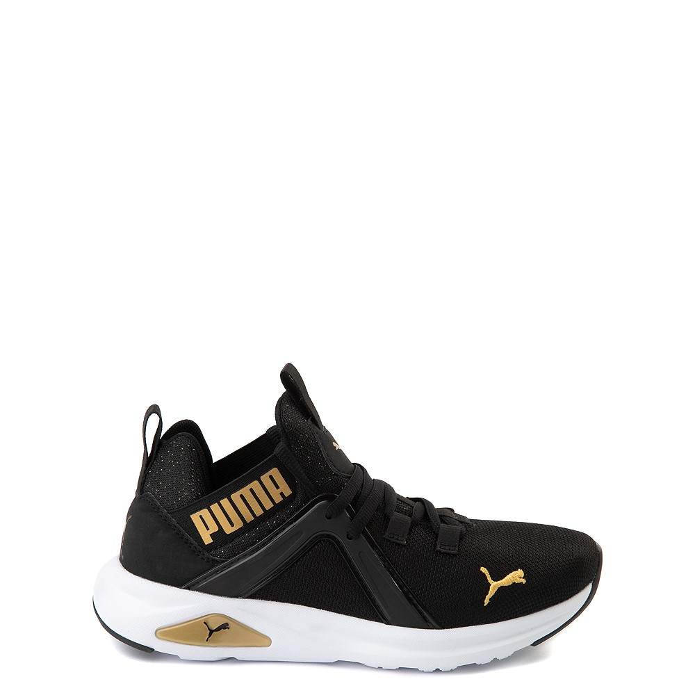 Puma Enzo Athletic Shoe - Little Kid - Black / Gold