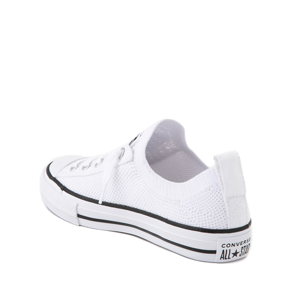 alternate view Converse Chuck Taylor All Star Shoreline Knit Sneaker - Little Kid / Big Kid - WhiteALT1