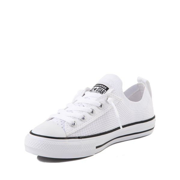 alternate view Converse Chuck Taylor All Star Shoreline Knit Sneaker - Little Kid / Big Kid - WhiteALT2