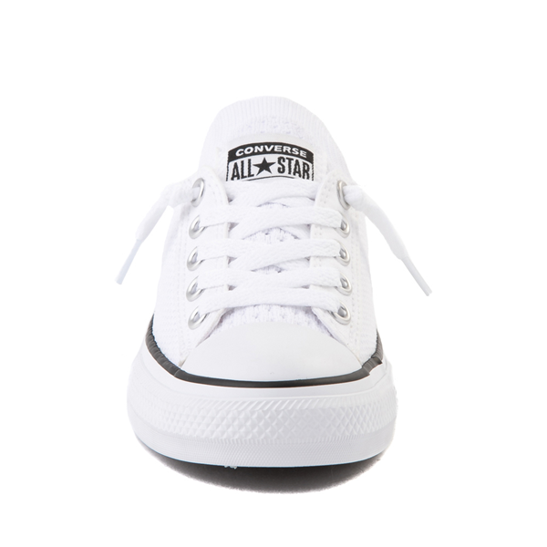 alternate view Converse Chuck Taylor All Star Shoreline Knit Sneaker - Little Kid / Big Kid - WhiteALT4