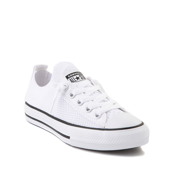 alternate view Converse Chuck Taylor All Star Shoreline Knit Sneaker - Little Kid / Big Kid - WhiteALT5