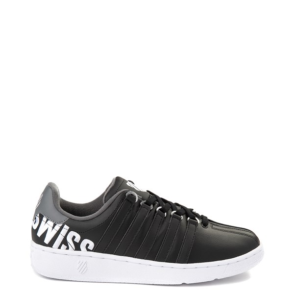 Mens K-Swiss Classic VN XL Logo Athletic Shoe - Black / Charcoal