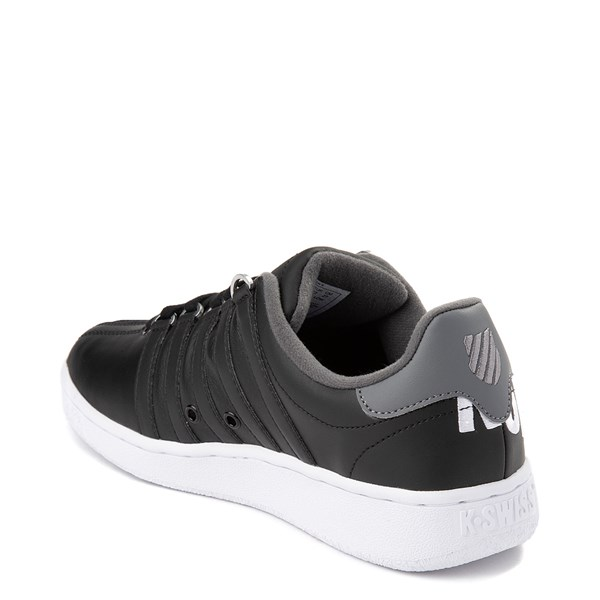 alternate view Mens K-Swiss Classic VN XL Logo Athletic Shoe - Black / CharcoalALT2