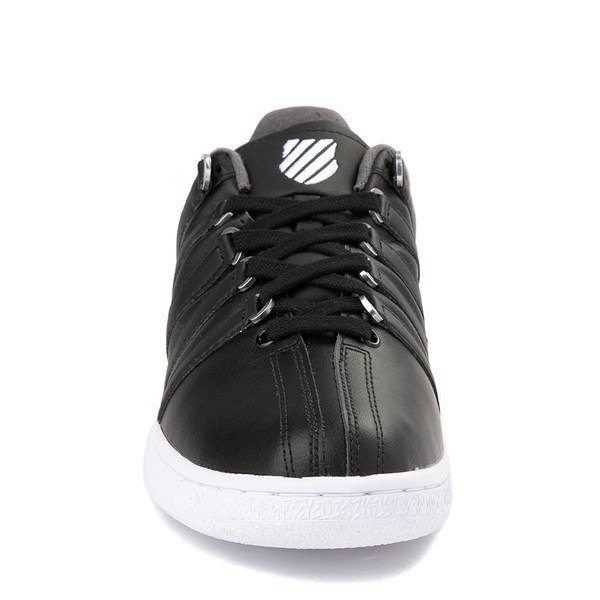 alternate view Mens K-Swiss Classic VN XL Logo Athletic Shoe - Black / CharcoalALT4