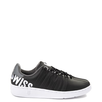 Main view of Mens K-Swiss Classic VN XL Logo Athletic Shoe - Black / Charcoal